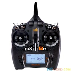 Emisora Spektrum DX8e 2.4 GHz solo radio