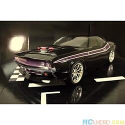 Dodge Challenger 1:10 Classic Sin pintar