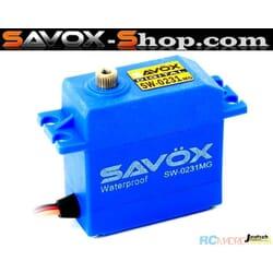 Servo Savox SW-0231MG Waterproof (15Kgr / 0.17sec)