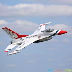 Eflite F-16 70mm EDF Jet BNF Basic SAFE