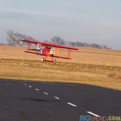 Fokker D.VII 1/4 30-60cc ARF, 2.2 mt