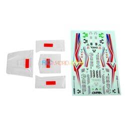Body Panel Set (Clear): UTB