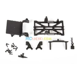 Chassis Parts, Long Wheel Base 133.7mm: SCX24
