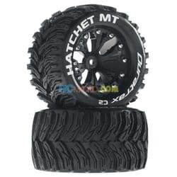 Rueda Hatchet MT 2.8 2WD montada trasera Negro (2)