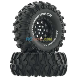 "Rueda Showdown CR C3 montada 1.9"" Crawler Negro (2)"
