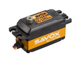 Servo Savox SC1251MG (9Kgr / 0.09sec) perfil bajo