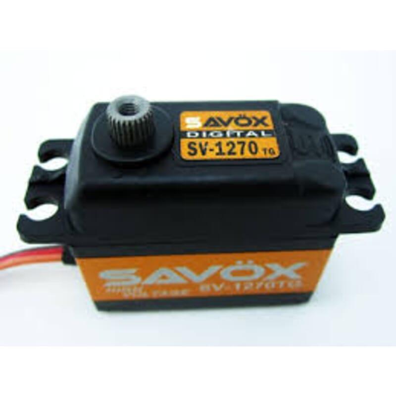 Servo Savox SV1270TG HV (35Kgr / 0.11sec)