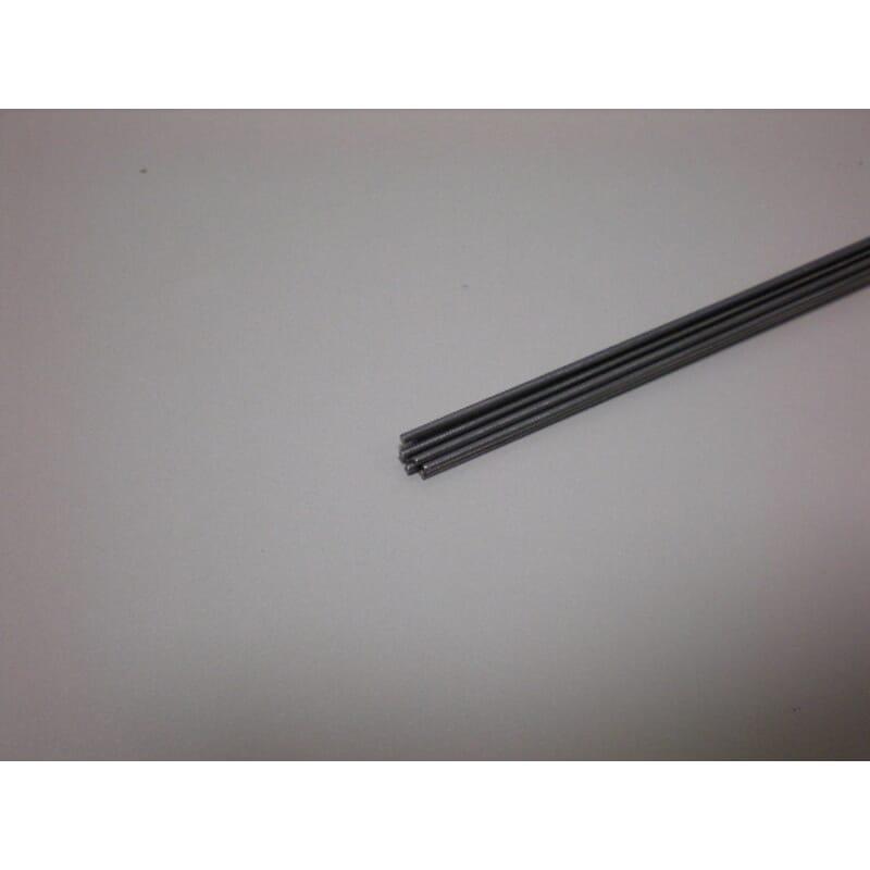 Varilla de acero de 1,5 mm x 1 m