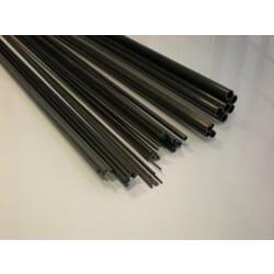 Varilla maciza fibra de carbono de 1.0 mm x 1 m