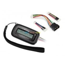LiPo cell voltage checker/balancer (includes 2938X adapter for Traxxas iD batte