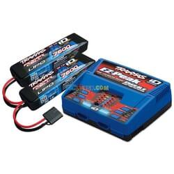 Traxxas 4S (2X 2869X 7.4V LiPO& 1X 2972GX duo charger