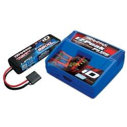 Traxxas 2S (1X 2843X 7.4V LiPO& 1X 2970GX ID charger