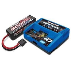 Traxxas 4S set (1X 2888X 14.8V LiPo & 1X2971G ID charger