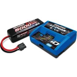 Traxxas 4S Set (1x 2889X 5000Mah 14.8V Lipo & 1x 2971G ID charger)