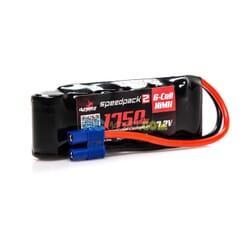 SPEEDPACK2 7.2V 1750MAH 6C NiMH plana EC3 MINIS