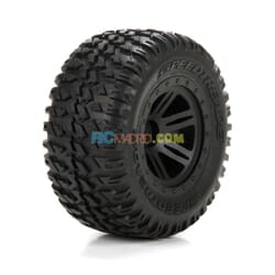 FR/R TirePrmntBlk Wheel (2)110 AMP MT/DB