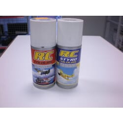 Pintura RC STYRO Negro 150 ml