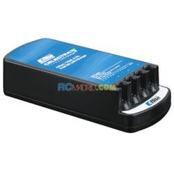 Cargador Celectra 4-Port 1-Cell 3.7V 0.3A DC Li-Po