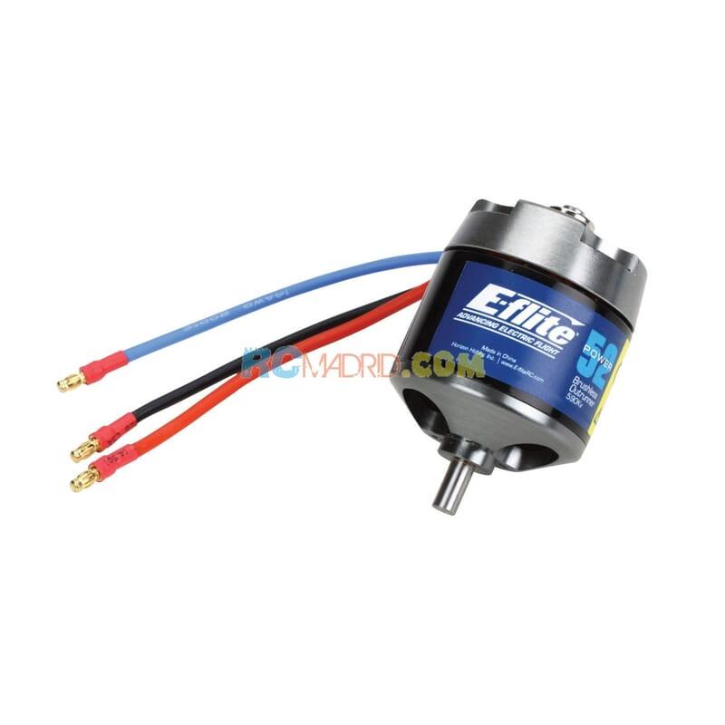 Motor Power 52 Brushless Outrunner 590Kv