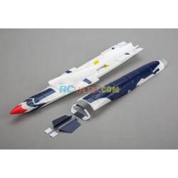 Fuselaje con accesorios UMX F-16