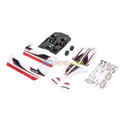 Body Set  White/Red  Mini 8IGHT-DB