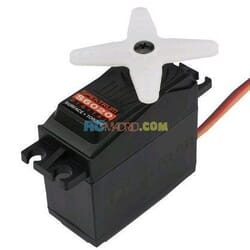 S6020 High Torque Mid Speed Digital Plastic Servo