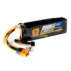 2200mAh 3S 9.9V Smart LiFe ECU Bateria  IC3