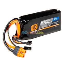 3200mAh 3S 9.9V Smart LiFe ECU Bateria  IC3