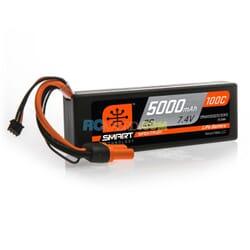 5000mAh 2S 7.4V 100C Smart LiPo caja dura  IC3