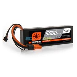 5000mAh 2S 7.4V 50C Smart LiPo caja dura  IC3