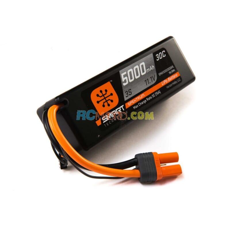 5000mah 3S 11.1V Smart LiPo 30C caja dura  IC5