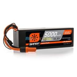 5000mAh 4S 14.8V 100C Smart LiPo caja dura  IC5