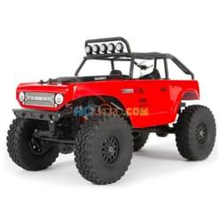 SCX24 Deadbolt 1/24th Scale Elec 4WD - RTR  Red