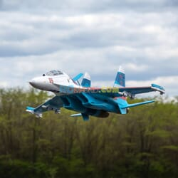 Su-30 Twin 70mm EDF BNF Basic w/AS3X & SAFE Select