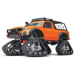 Traxxas TRX 4 Sport con Orugas TQ XL 5 (no bateria ni cargador), Naranja