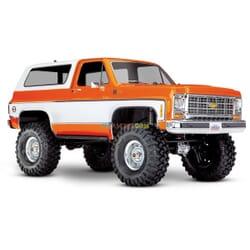 Traxxas TRX 4 Chevy K5 Blazer Crawler XL 5 (no batty/chg), Naranja, TRX82076 4O