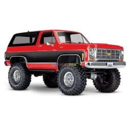 Traxxas TRX 4 Chevy K5 Blazer Crawler XL 5 (no batty/chg), Rojo, TRX82076 4R