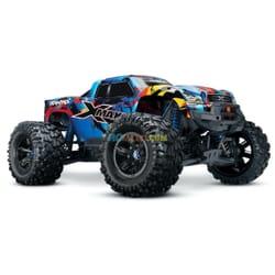 Traxxas X Maxx 4WD VXL 8S Monstertruck TQi TSM (no bateria ni cargador), Rock&Roll
