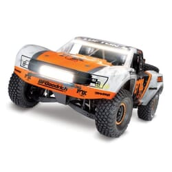 Traxxas Unlimited Desert Racer 4WD incl LED, TQi VXL 6S (no bat/cargr), Fox