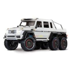 Traxxas TRX 6 Mercedes Benz G 63 AMG Body 6X6 electrico Trail Truck Blanco