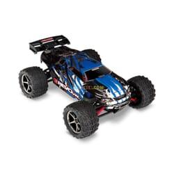 Traxxas E Revo VXL 1/16 4x4 Brushless TQi TSM (con bateria y cargador), Azul, TRX71076 3B