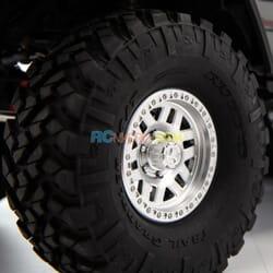 Axial SCX10 III Jeep JLU Wrangle con Portales RTR, Gris 1/10