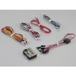 Sistema de luces led 1/10 12 leds