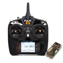 Emisora Spektrum NX6 + Receptor AR6610T