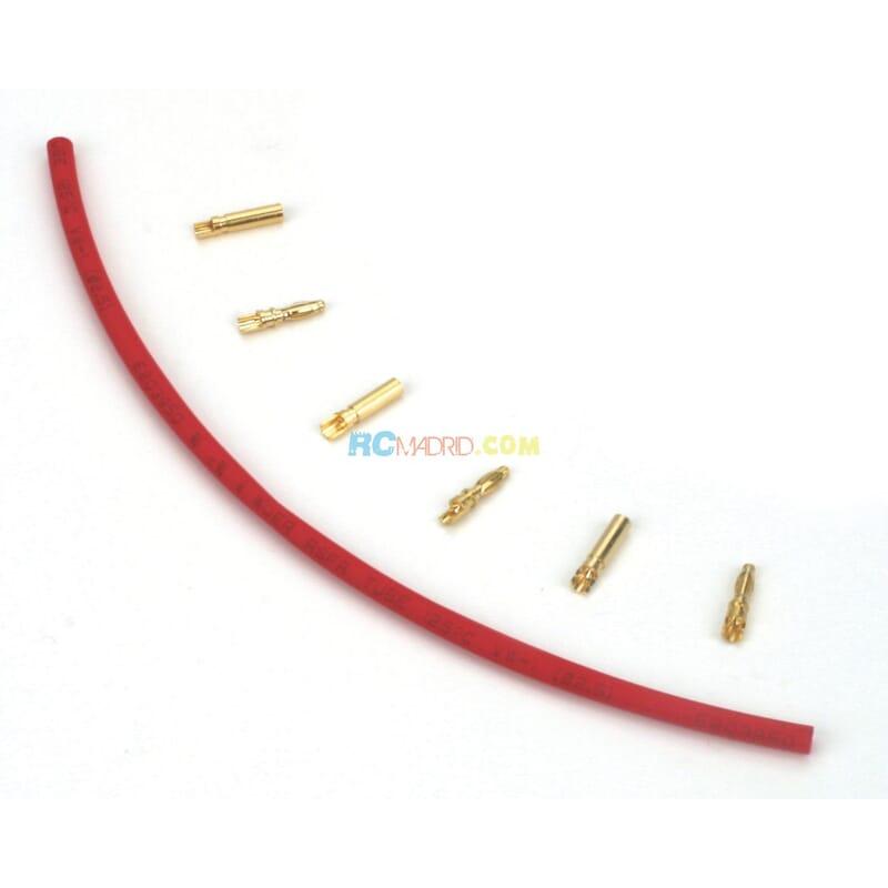 Gold Bullet Connector Set 2mm (3)