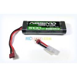 Bateria NIMH 5100 STICK PACK 7.2V Greenhorn