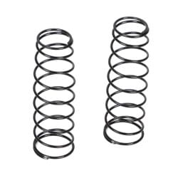 Losi 16mm RR Shk Spring, 3.6 Rate, Silver (2): 8B 3.0