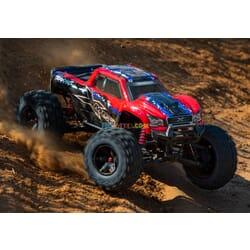 Traxxas X Maxx 4WD VXL 8S TQi TSM (no bateria ni cargador) RojoX v2