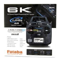 Emisora Futaba 6K + R3006SB