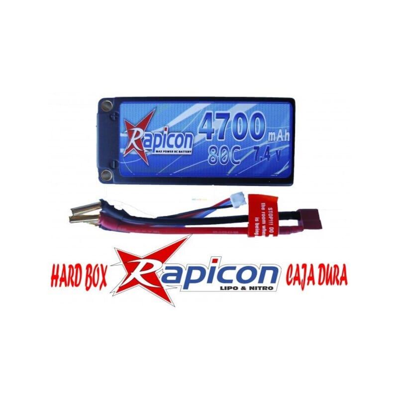 Lipo Rapicon 7.4V 4700 80C Shorty